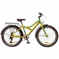 "Велосипед Discovery 24"" FLINT 14G 14"" зелено-серо-голубой 2017 (OPS-DIS-24-056)"