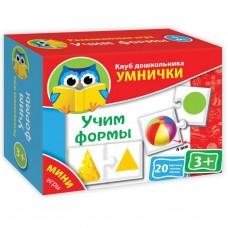 Настольная игра Vladi Toys Учим формы (рус.язык) (VT1309-01)