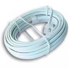 Патч-корд телефонный 5м RJ12 Cablexpert (TC6P4C-5M)