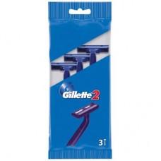 Бритва Gillette одноразовая 3 шт (3014260282691)