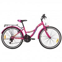 "Велосипед Premier Triumph 24 V-brake 2017 13 "" розовый (SP0002165)"