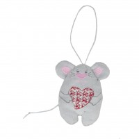 Мягкая игрушка FANCY Мышка С любовью (VBBU0)