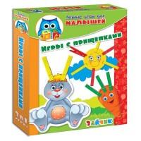Настольная игра Vladi Toys Зайка прищепочки (рус. язык) (VT1307-04-2)