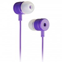 Наушники KitSound KS Vibes Earphones Purple (KSVIBPU)