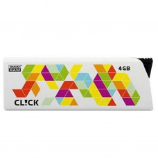 USB флеш накопитель GOODRAM 4GB Cl!ck White USB 2.0 (PD4GH2GRCLWR9)