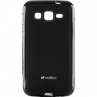 Чехол для моб. телефона Melkco для Samsung I8580 Poly Jacket TPU Black (SSGC85TULT2BKMT)
