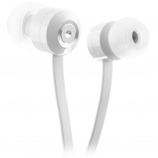 Наушники KitSound KS Ribbons In-Ear Earphones with Mic White (KSRIBWH)
