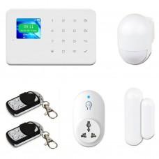 Комплект охранной сигнализации Tecsar Alert WARD + управляемая розетка (10728)