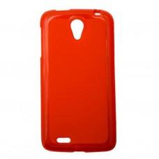 Чехол для моб. телефона Drobak для Samsung I8262 Galaxy Core /Elastic PU /Red Clear (216083)