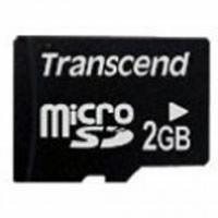 Карта памяти 2Gb microSD Transcend (TS2GUSDC)