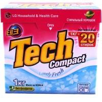 Стиральный порошок LG Tech Compact Lovely Fresh 1 кг (8801051203660)