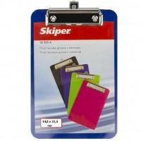 Клипборд-папка Skiper SK905-4, А5, blue (410703)