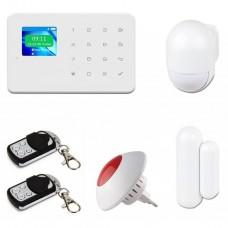 Комплект охранной сигнализации Tecsar Alert WARD + беспроводная сирена (10727)