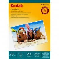 Бумага Kodak A4 Photo Paper - Gloss 180gsm  20л (5740-800)