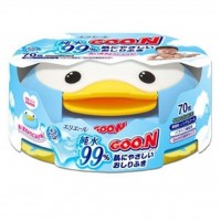 Влажные салфетки GOO.N для чувствительной кожи Пингвин 70 шт (733429)