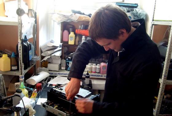 Заправка принтера HP в Каменец-Подольском